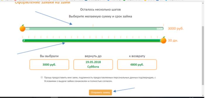 МФК Займ Экспресс – оформление заявки на займ
