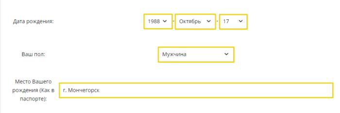 МКК Z400 (Лот финанс) - дата рождения, пол, место рождения